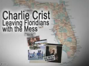 The DSCC is targeting Charlie Crist in a new ad.