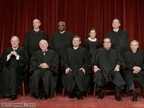 The search for a new Supreme Court justice is moving ahead quickly at the White House.