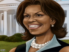First Lady Michelle Obama will appear on the cover of the comic book series 'Female Force.'