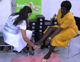 Event held by heels.com, in conjunction with job fair.