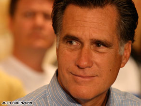 Mitt Romney says he finds some of Sonia Sotomayor's past statements 'troubling,' but that he will give her a chance to explain her views.