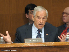 Dr. Rand Paul, the son of Texas Republican Rep. Ron Paul, told CNN Monday that he is seriously considering a run for the Senate.