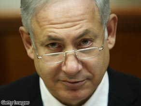 Israeli Prime Minister Benjamin Netanyahu says Israel is prepared to resume peace negotiations.
