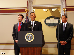 President Obama announced $17 billion in budget cuts Thursday.