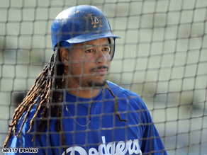 The White House is disappointed with Manny Ramirez.