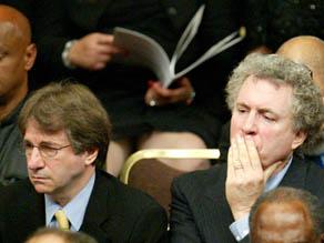 Barry Scheck and Peter Neufeld.