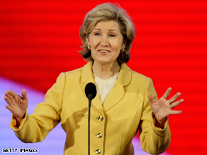Sen. Kay Bailey Hutchison said Wednesday that she would resign her senate seat sometime this fall.