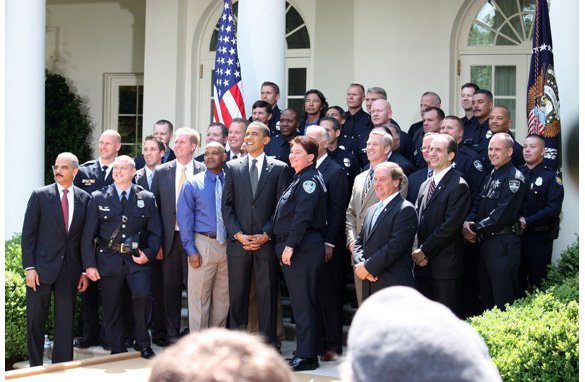 Pres. Obama with Top Cops