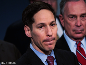 President Obama has chosen Dr. Thomas R. Frieden, New York City health commissioner, to head the CDC.