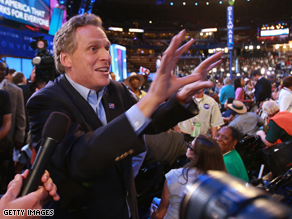 Terry McAuliffe in the Virginia governor's race.