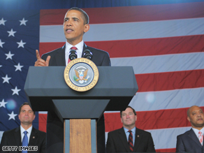 President Barack Obama on Tuesday proposed making 'pay-as-you-go' rules for federal spending into law.