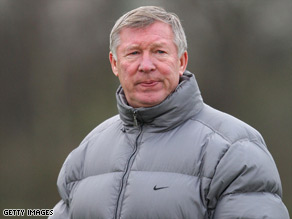 Alex Ferguson has set his sights on consecutive Champions League crowns.