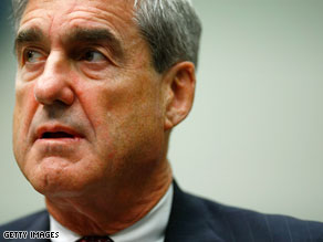 FBI Director Robert Mueller says the FBI is not investigating Nancy Pelosi&#039;s charge that she was misled by the CIA.