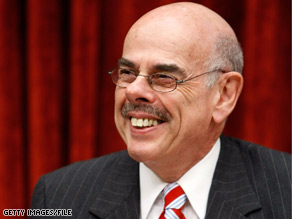 Democrat Henry Waxman is trying to get his party&#039;s massive climate change bill out of his committee by Memorial Day.