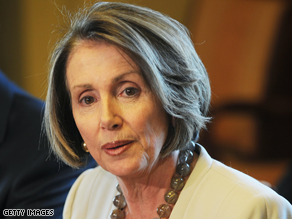 Nancy Pelosi is no longer discussing her charge that the CIA misled Congress.