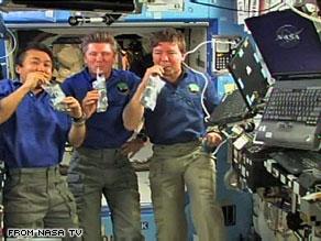 Astronauts enjoy recycled urine – SciTechBlog - CNN.com Blogs