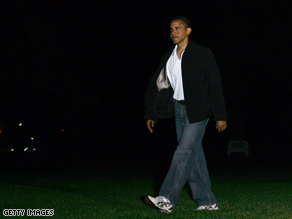  President Obama returned from Camp David on Sunday night.