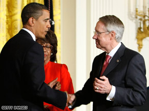 President Obama is travelling to Las Vegas Tuesday to headline a fundraiser for Sen. Reid.