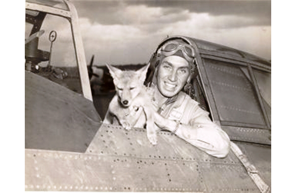 Photo Courtesy wildbillcrump.com    Jeep flew 5 missions in WWII with Lt. Crump.