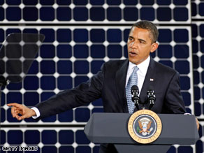 President Obama on Wednesday said that 'we are already seeing results' from his economic stimulus package.