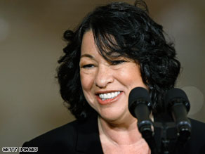 Judge Sonia Sotomayor continued making the rounds on Capitol Hill Wednesday.