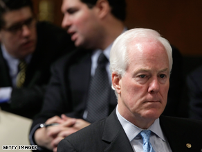 Cornyn on Thursday said statements calling Sotomayor a racist are 'terrible.'