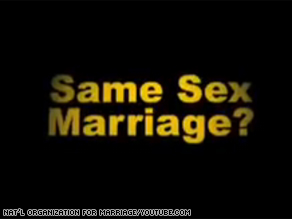 The National Organization for Marriage has launched a new ad campaign in New York State.