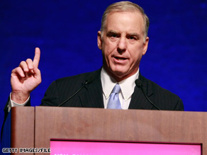 Howard Dean told an interviewer Tuesday it was time to scrap the Senate health care bill and head back to the House.