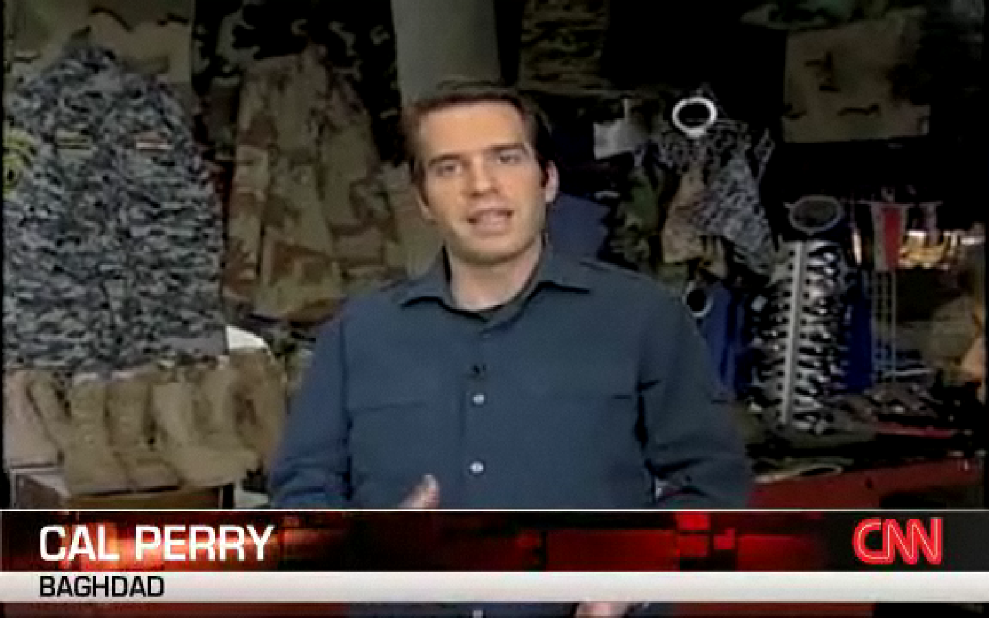 Cal Perry Reports. Click here to watch