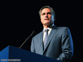In a speech Monday, former Republican presidential hopeful Mitt Romney criticized President Obama's approach to foreign policy and defense spending.