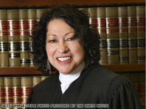 A number of Judge Sotomayor's former law clerks have sent a letter to leaders in the Senate.