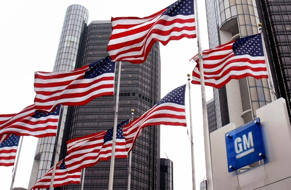 General Motors, the nation's largest automaker, will file a bankruptcy petition at 8 a.m. ET, according to a source with direct knowledge of the proceedings. Getty Images/FILE