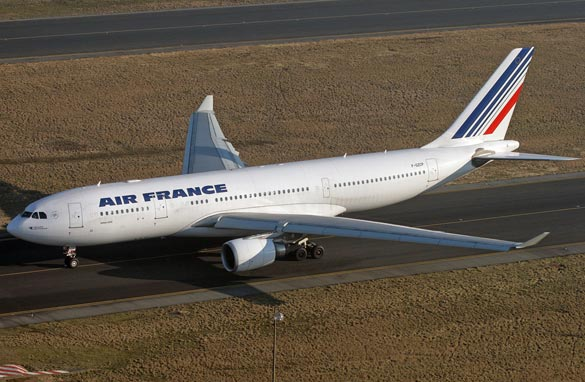 A photo of the Airbus 330 that went missing over the Atlantic early Monday. Courtesy Olivier Corneloup
