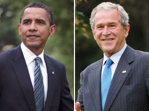 Can Obama keep up with Bush&#039;s reading pace?