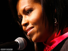 The White House said Thursday the first lady had selected a new chief of staff.