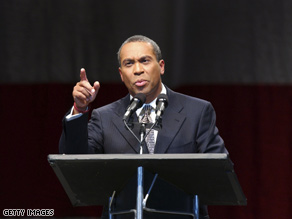 Deval Patrick will face a challenge from former Democrat
