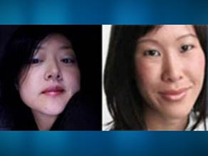 Euna Lee, left, and Laura Ling