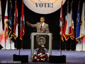 Obama previously spoke at the NAACP&#039;s convention during his presidential campaign in 2008.