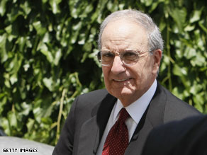 U.S. Mideast envoy George Mitchell will spend two days in Syria this weekend.
