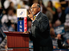 epublican National Committee Chairman Michael Steele is urging congressional Republicans and state GOP leaders to continue publicly questioning President Obama's economic and health care plans.