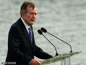 Former President George H.W. Bush stood up for his former judicial nominee Sonia Sotomayor Friday.