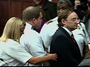 ... walks out of courtroom in handcuffs after guilty verdict