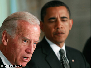 Biden: Obama has kept his word on consulting vice president – CNN ...