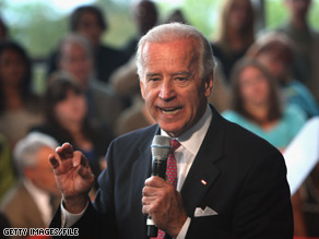Vice President Joe Biden weighed in Sunday on the election results in Iran.