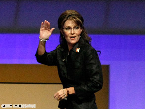 A person close to Sarah Palin told CNN Monday that the Alaska governor's life 'is very difficult.'