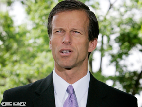 Sen. John Thune is among lawmakers calling for an end to TARP.