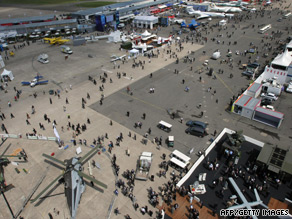 The showpiece at Le Bourget is a major shop window for aircraft manufacturers.
