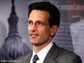 House Minority Whip Eric Cantor is criticizing the Obama administration&#039;s response to the political unrest in Iran.