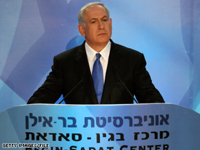 Israeli Prime Minister Benjamin Netanyahu said Sunday that a nuclear-armed Iran would be a threat to the entire world.