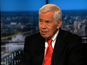 Sen. Richard Lugar said Sunday that the Obama administration should sit down with Iran in hopes of eliminating Iran's nuclear program.